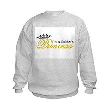I'm a Soldier's Princess! Sweatshirt