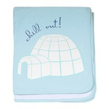 Chill Out Igloo baby blanket