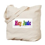 Hey Jude t-shirt front Tote Bag