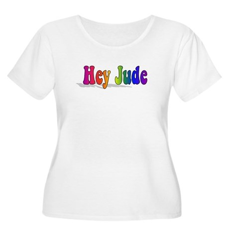 Hey Jude t-shirt front Plus Size T-Shirt