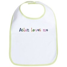 Aslan Loves Me, children's design Bib