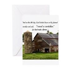God Made a Farmer Greeting Cards (Pk of 20)