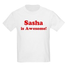 Sasha is Awesome Kids T-Shirt