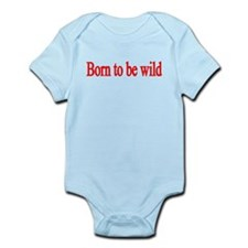 born to be wild-red Body Suit