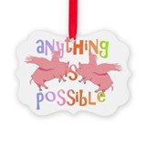 Anything is Possible Picture Ornament