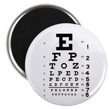 "Eye chart gift 2.25"" Magnet (100 pack)"