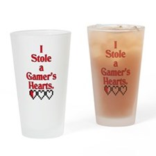 Unique Couples valentine Drinking Glass