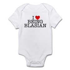 """I Love Being Blasian"" Onesie"