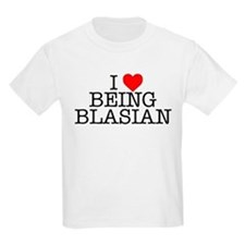 """I Love Being Blasian"" Kids T-Shirt"