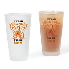 I Wear Orange for my Mom Drinking Glass