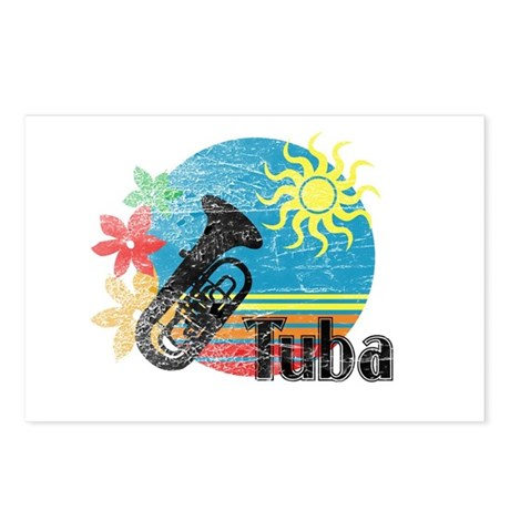 Hawaiian Tuba Postcards (Package of 8)