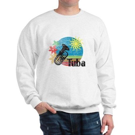 Hawaiian Tuba Sweatshirt
