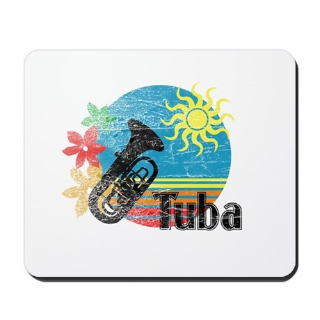 Hawaiian Tuba Mousepad
