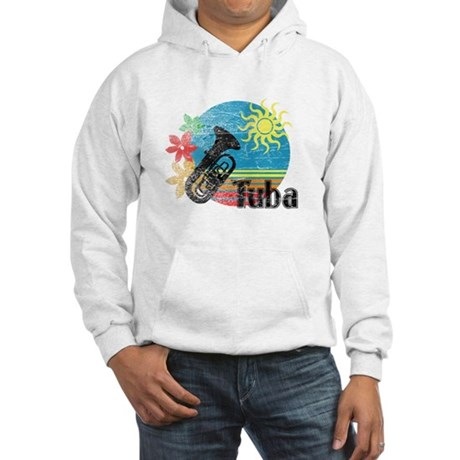 Hawaiian Tuba Hooded Sweatshirt