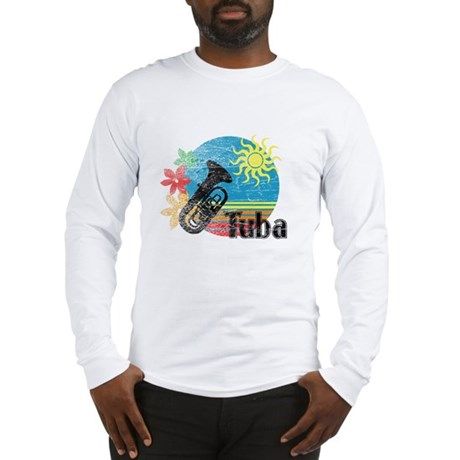Hawaiian Tuba Long Sleeve T-Shirt