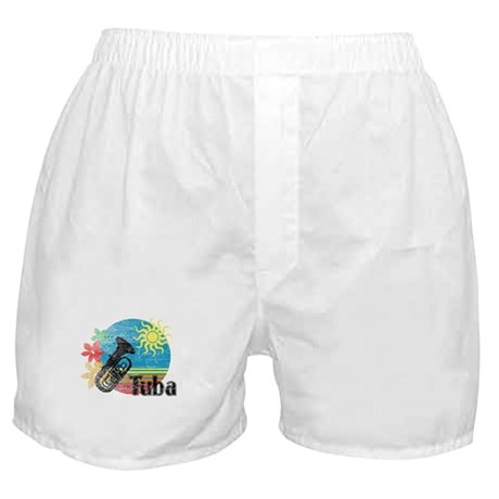 Hawaiian Tuba Boxer Shorts