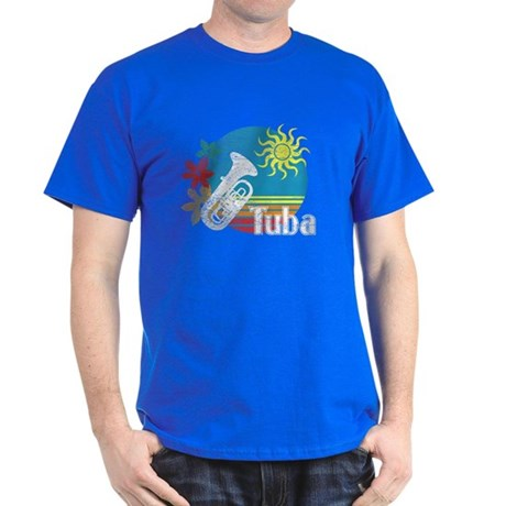 Hawaiian Tuba Dark T-Shirt