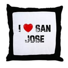 I * San Jose Throw Pillow