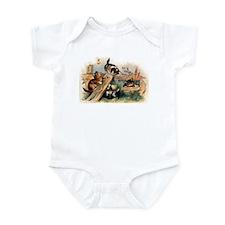 Victorian Cats Infant Bodysuit