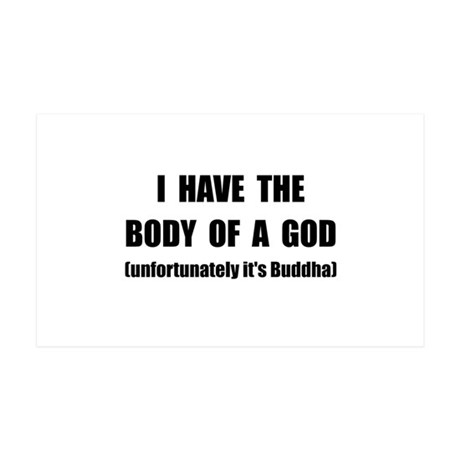 Buddha Body Wall Decal