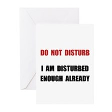 Do Not Disturb Greeting Cards (Pk of 20)