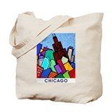 Sears Tower and Water Tower Tote Bag