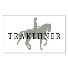 Piaffe - Trakehner Rectangle Decal