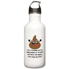 Friendship Turd Water Bottle