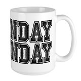 Sunday Funday Ceramic Mugs