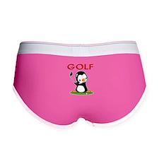 Golf Penguin (2) Women's Boy Brief