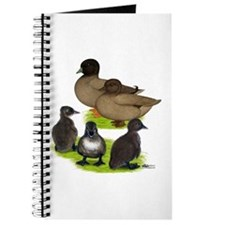Call Duck Khaki Family Journal