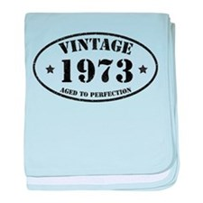 Vintage Aged to Perfection baby blanket