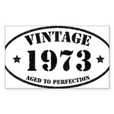 Vintage Aged to Perfection Bumper Stickers