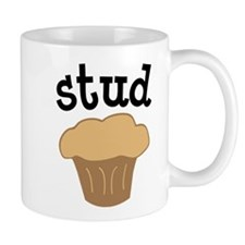Stud Muffin Funny Valentines Day Gift Mug