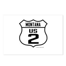 US Route 2 - Montana Postcards (Package of 8)