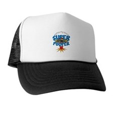 SUPER ATOMIC POOPER URL Trucker Hat