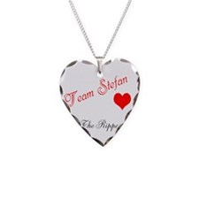 Cute Paul wesley Necklace Heart Charm