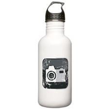 Kamera-Symbol (used look) Water Bottle