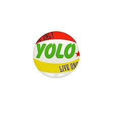 YOLO WORLD Mini Button