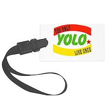 YOLO WORLD Luggage Tag