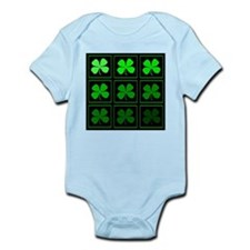saint patricks day quad darkd Body Suit