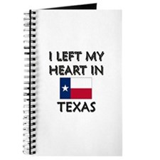 I Left My Heart In Texas Journal