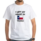 I Left My Heart In Texas Shirt