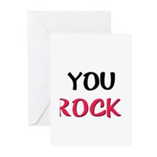 Cute You rock Greeting Cards (Pk of 20)