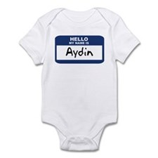 Hello: Aydin Infant Bodysuit
