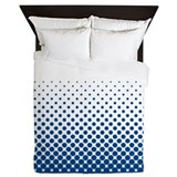 Unique Halftone Queen Duvet