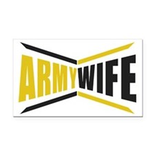Army Wife Rectangle Car Magnet