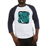 Fight The Fight Cervical Cancer Baseball Jersey