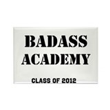 Badass Academy Lite Rectangle Magnet