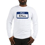 Hello: Ethen Long Sleeve T-Shirt